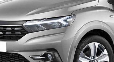 Не только серый: Как выглядит Renault Logan 2021 в актуальных цветах – рендеры