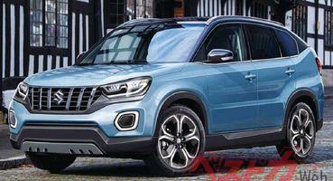 Турбины и гибриды: Глобальный дебют Suzuki Vitara 2021 запланирован на следующий год