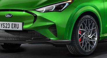Ford Fiesta вкузове Mini Mustang: Представлен рендер нового кросс-хэтчбека Mach-E