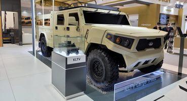 Корейцы готовят «убийцу» Hummer: Представлен KIA LTCT— военный грузовик снеобычным дизайном