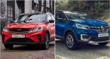 Бесполезен на бездорожье, но хорош на асфальте: Эксперт сравнил Geely Coolray с Renault Kaptur