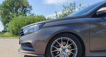 Mercedes-Benz B-class по-тольяттински: LADA Vesta SW в тюнинге на 400 тыс. р. показал владелец