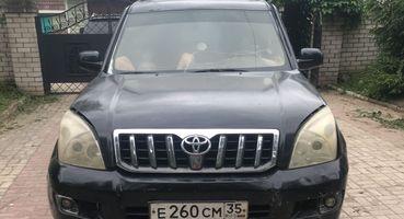 «Крузак» за100тыс. рублей: Копию Toyota LCPrado продают вВологде