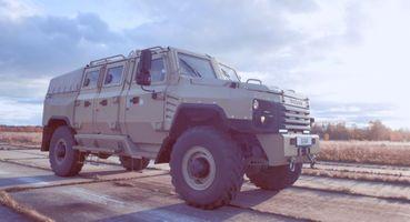 «Хаммер» из«ГАЗона Некст»: Люксовый бронемобиль сделали вРоссии