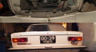 «Копейка» заполмиллиона: Почти новый ВАЗ-2101 30 лет простоял вгараже