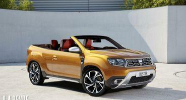 Range Rover останется не у дел: Кабриолет Renault Duster показан нарендерах