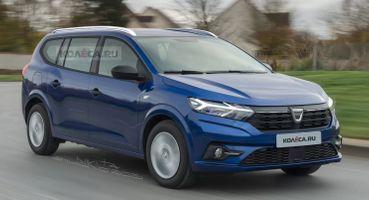 «Ларгус, который мыхотим»: Рендеры нового универсала Dacia Logan обсудили автомобилисты