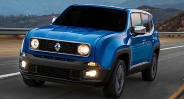 Первый рендер внедорожника Renault Duster-Niva показан дизайнером