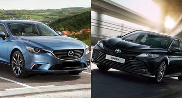 Пересел и пожалел: Mazda 6 стала «на голову» выше Toyota Camry XV70