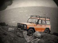 «Охотник» наМарсе: УАЗ показали внедорожник «Хантер» напервом снимке марсохода Perseverance