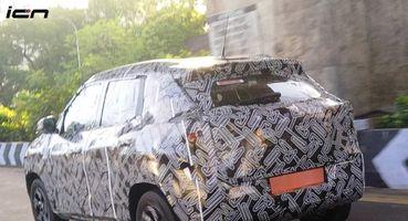 Шпионские фото Nissan Magnite в плотном камуфляже опубликованы в Сети