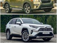 «Лесник» против модного горожанина: Выбор между Subaru Forester и Toyota RAV4