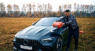 Устал чинить— решил спалить: Блогер поджёг Mercedes за13млн ивызвал гнев россиян
