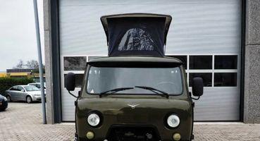 Дорого, ноуютно: Показан автодом набазе УАЗ «Буханка» за3 миллиона рублей