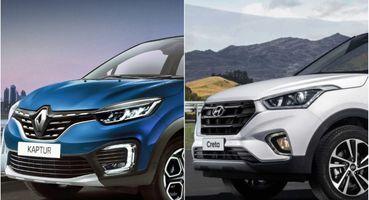 Обновлённый «француз» против грозы кроссоверов: Renault Kaptur 2020 и Hyundai Creta сравнили на тест-драйве