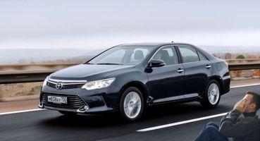 Погоны, покраска икрутые номера: 10 методов защиты Toyota Camry отугона назвали автолюбители