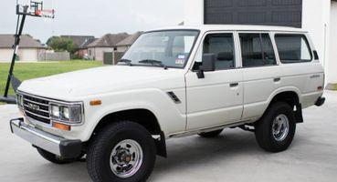 Старый «Крузак» поцене «Двухсотки»: ВСША 30-летний Toyota Land Cruiser FJ62 выставили наторги за51 000 $