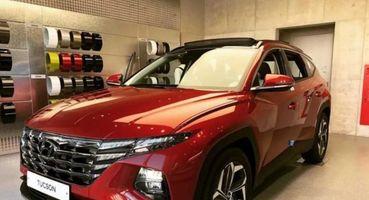 Обворожительный «Тушканчик»: Первые «живые» фото Hyundai Tucson нового поколения