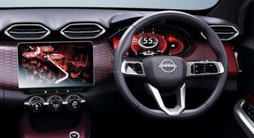 Большой тачскрин и цифровая «приборка»: Детали интерьера Nissan Magnite рассекречены на фото