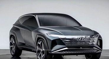 Прототип «Туссана»: В Сети появились свежие снимки Hyundai Vision Concept T