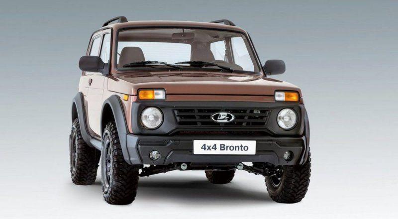 Стало известно, когда появится обновленный LADA 4x4 Bronto