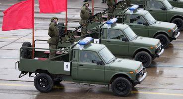Для защитников Отечества: LADA показала спецмашины для армии иполиции