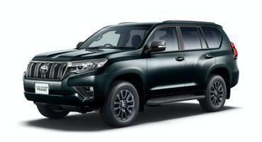 Больше мощи и стиля: Toyota Land Cruiser Prado получил версию Black Edition
