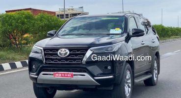 Toyota Fortuner 2021 в минимальном камуфляже: Опубликованы свежие шпионские фото