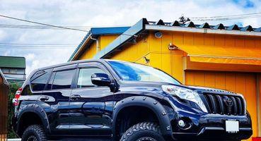 Брутальный тюнинг Toyota Land Cruiser Prado показали японцы