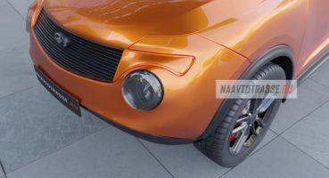 «Подвинет» Nissan Juke: Кросс-купе набазе ЗАЗ-968 показано нарендерах